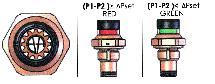 Индикатор засоренности фильтра визуальный